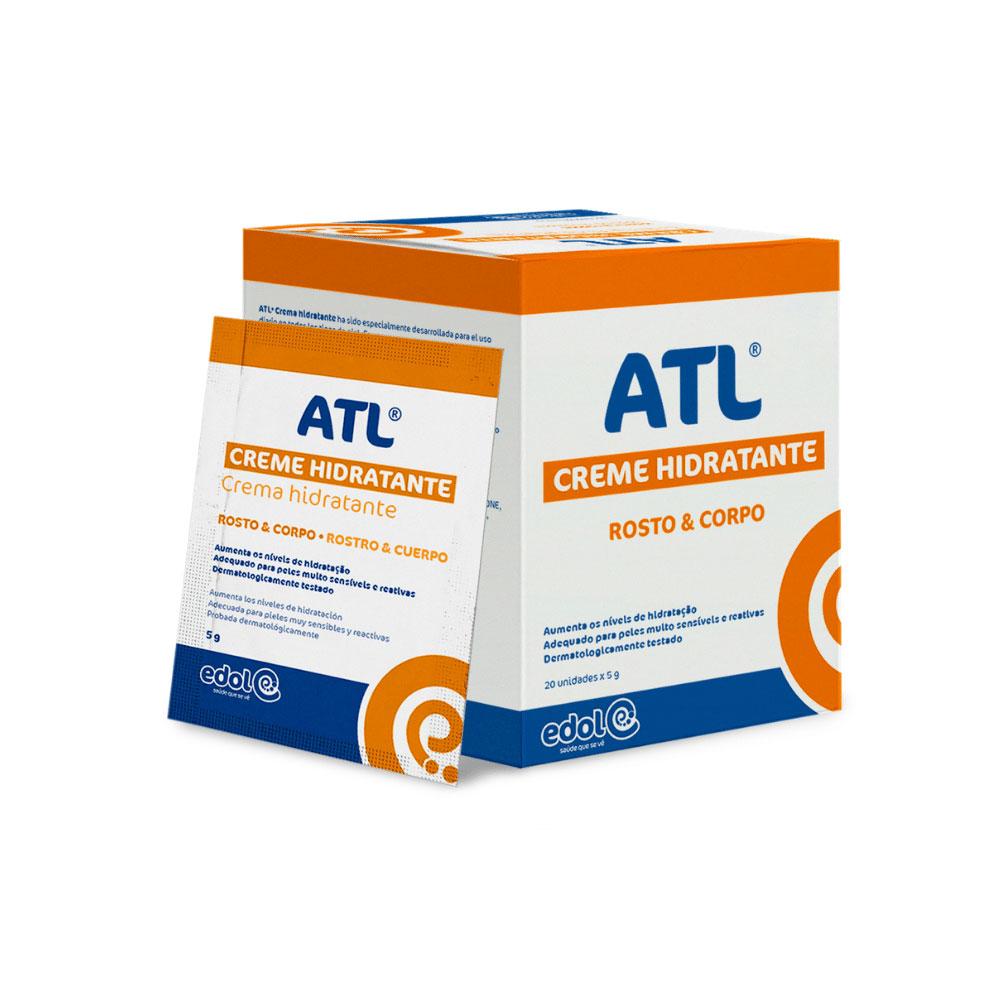 ATL® Creme Hidratante - Caixa de 20 saquetas 5g